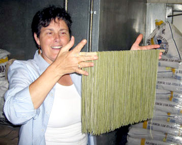 Linda Green Making Pasta